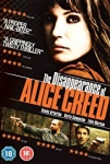 The Disappearance of Alice Creed 2009 dvd