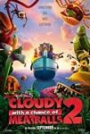 Cloudy with a Chance of Meatballs 2 2013 dvd
