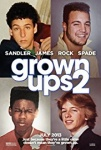 Grown Ups 2 2013 dvd