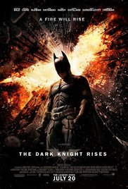 The Dark Knight Rises 2012 dvd