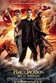 Percy Jackson 2: Sea of Monsters 2013 dvd
