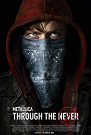 Metallica: Through the Never 2013 dvd